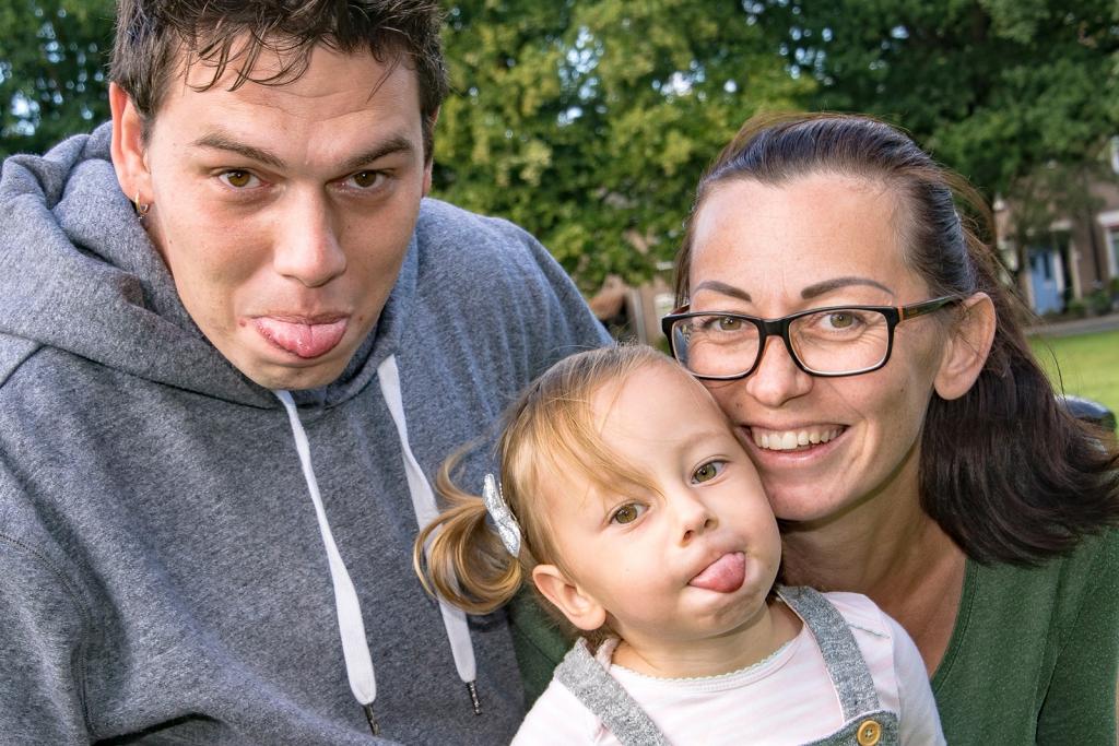 Zwangerschap Paul en Dagmar