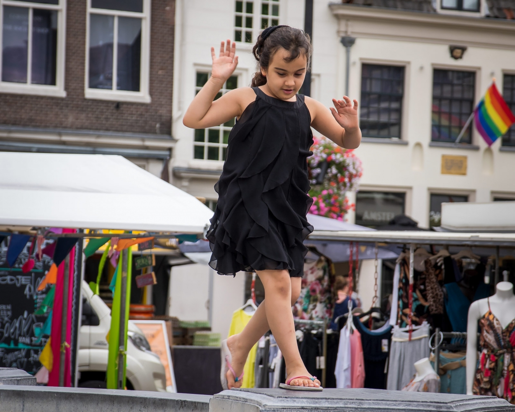 Danseresje in Amersfoort (FCO 03-08-2019)