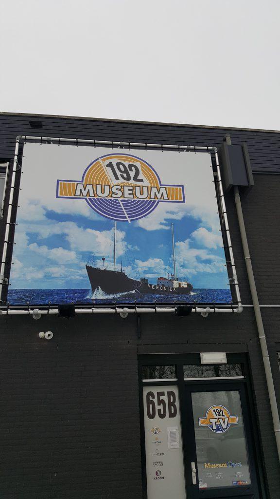 Entree van het 192-Museum in Nijkerk